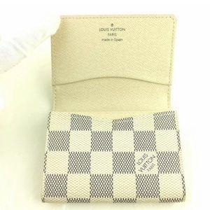 Louis Vuitton Bags - LV Damier Azur Enveloppe Cartes De Visite